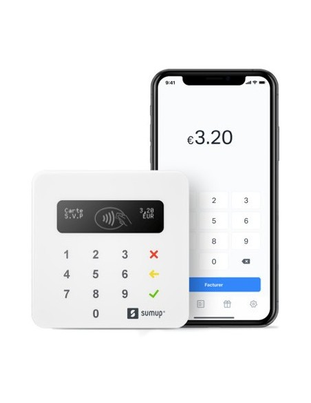 SumUp - Air - terminal de paiement bluetooth